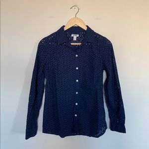 3/19🌽 Old Navy Women's Button Up Top Size Small